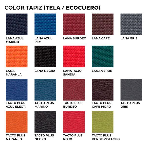 Silla ISO Nac Tapizada