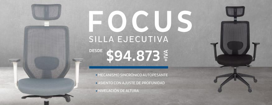 Sillas de escritorio Focus