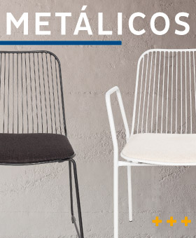 Silla de comedor - Sillas Metalicas