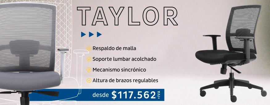 Silla oficina o escritorio Taylor