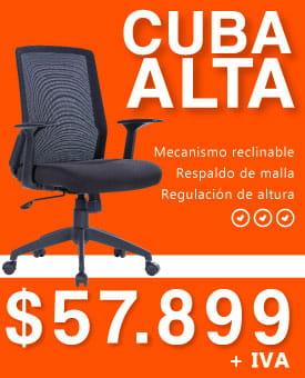 Silla de escritorio Cuba
