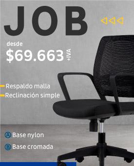 Silla de escritorio Job